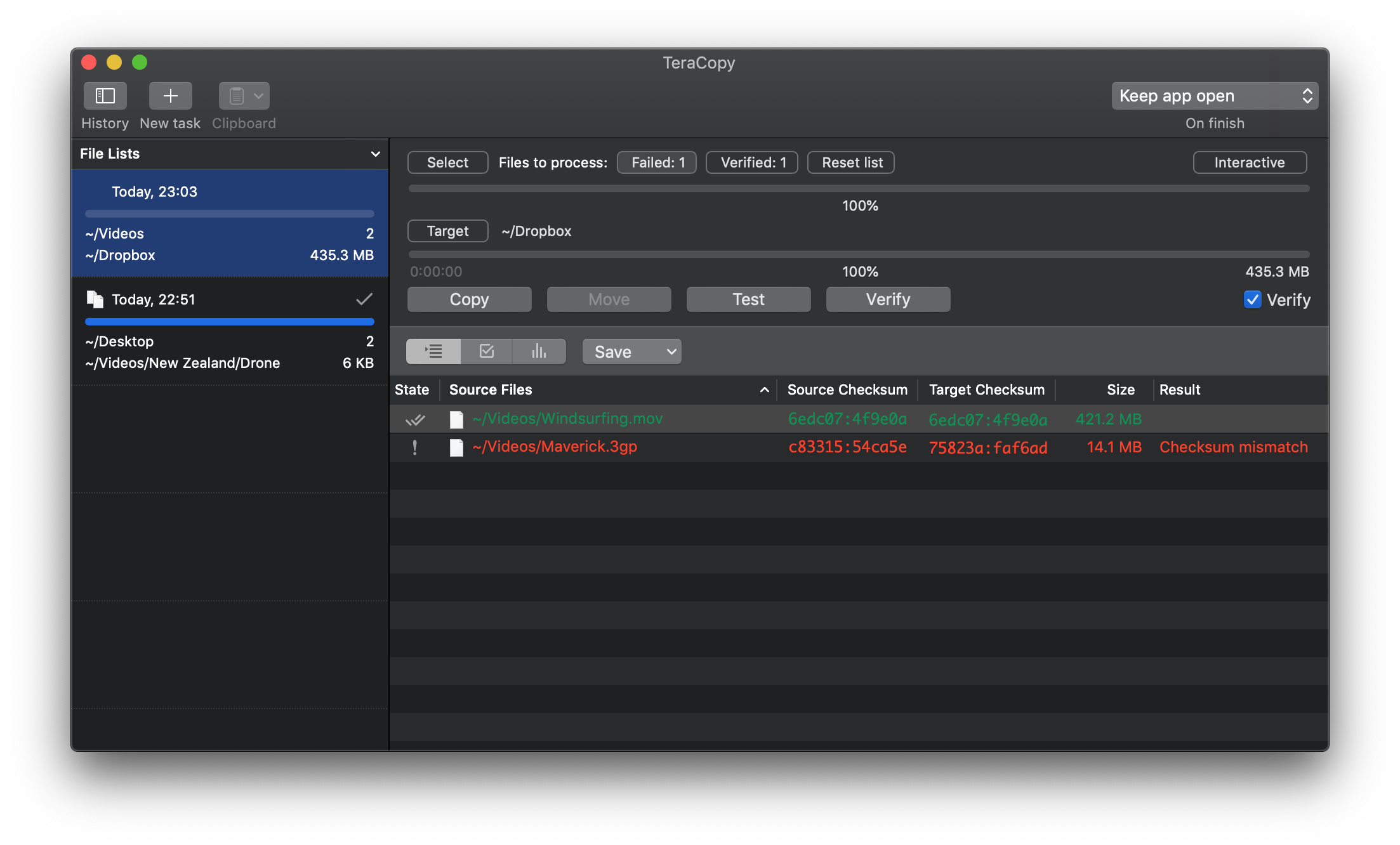TeraCopy for Mac - Code Sector