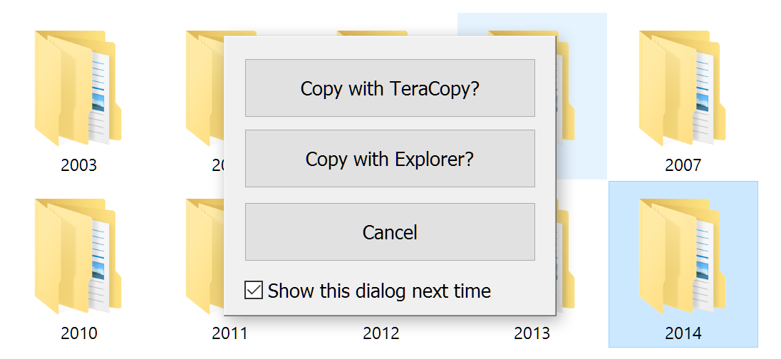 TeraCopy for Windows - Code Sector